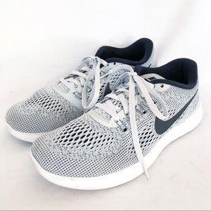 Nike Free Run sneakers white black sz 8.5 Shoes